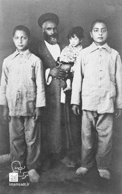 عکسی از دوران نوجوانی امام صدر